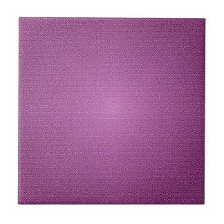 Purple Design Small Square Tile