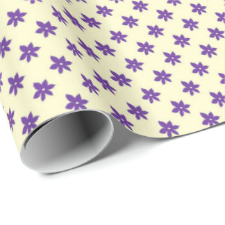 Purple Designs Wrapping Paper