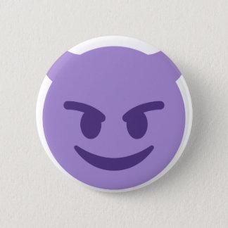 Purple Devil Emoji 6 Cm Round Badge