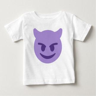 Purple Devil Emoji Baby T-Shirt