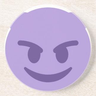 Purple Devil Emoji Coasters