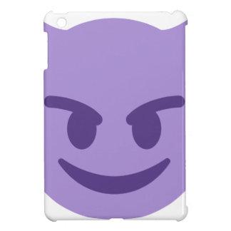 Purple Devil Emoji iPad Mini Cover
