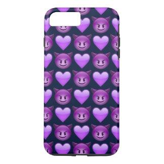 Purple Devil Emoji iPhone 8/7 Plus Phone Case