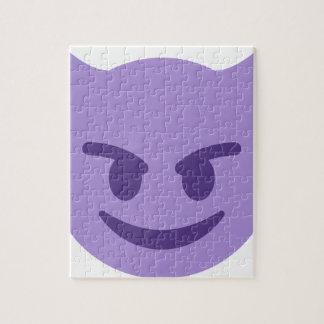 Purple Devil Emoji Puzzles