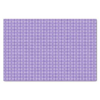 Purple Diamond Happy Birthday Tissue Paper