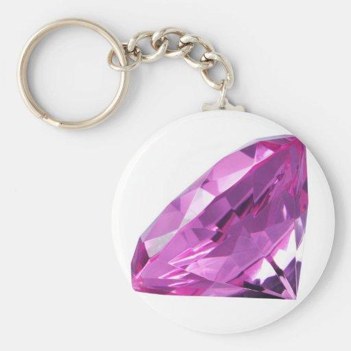 Purple Diamond Key Chains