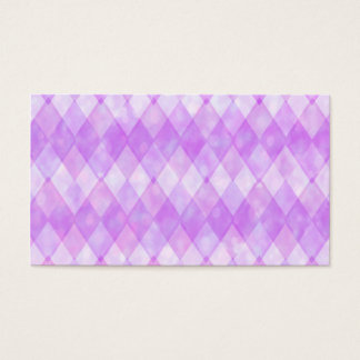 Purple Diamonds Business Card