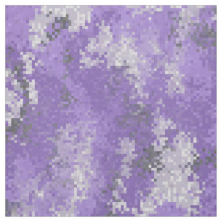 Purple Digi Camo Fabric