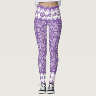 purple dot legging