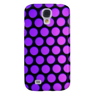 Purple Dots Galaxy S4 Case