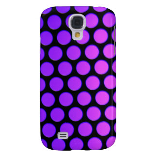 Purple Dots Samsung Galaxy S4 Cover