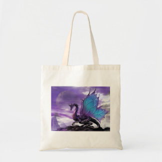 Purple dragon bag