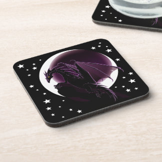 Purple Dragon Coasters (set of 6)