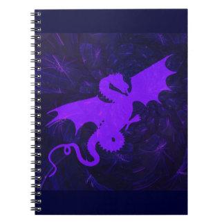 Purple Dragon Notebook