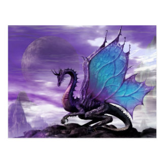 Purple Dragon Postcard