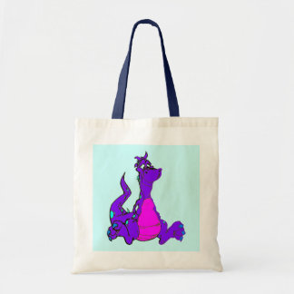 Purple Dragon Tote