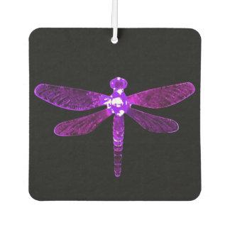 Purple Dragonfly Car Air Freshener