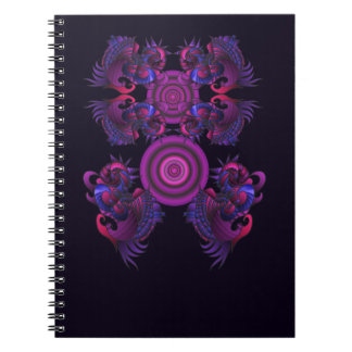 Purple dragons Notebook