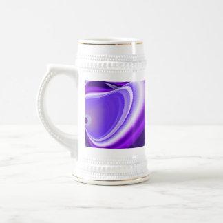 Purple Dream , Abstract Fantasy Rainbow-Art Beer Steins