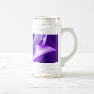 Purple Dream , Abstract Fantasy Rainbow-Art 18 Oz Beer Stein