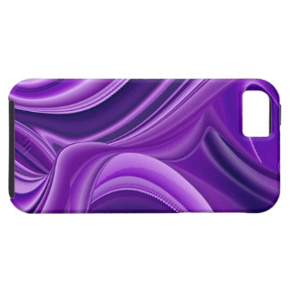 Purple Dream , Abstract Fantasy Rainbow-Art Tough iPhone 5 Case