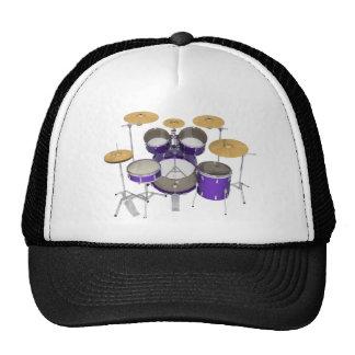 Purple Drum Kit: Cap