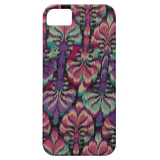 Purple, Dusty Rose & Green iPhone 5 Cases