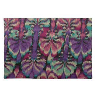 Purple, Dusty Rose & Green Placemat
