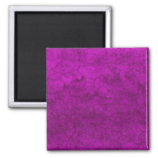 Purple Earth Square Magnet