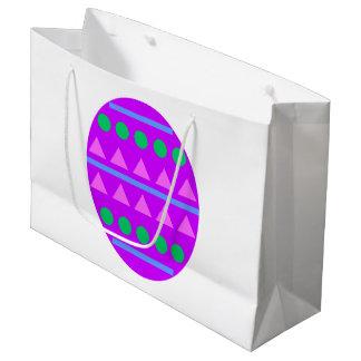 Purple Egg Gift Bag