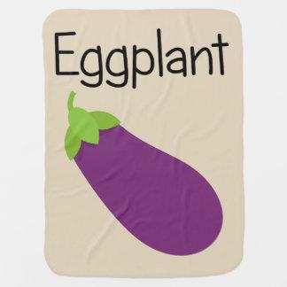 Purple Eggplant Baby Blanket