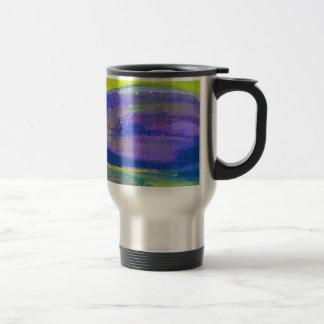 Purple Eggplant Painting Travel Mug