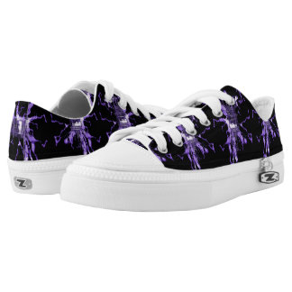 Purple Electric Low Tops