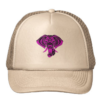 Purple Elephant Animal Cap