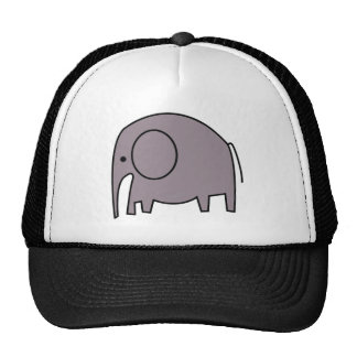 PURPLE ELEPHANT CAP