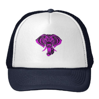Purple Elephant Cap