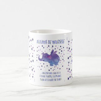 Purple Elephant mug