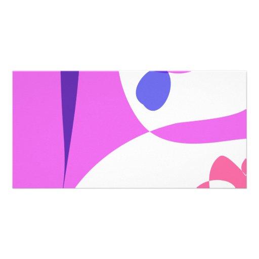 Purple Elephant Photo Card
