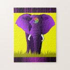 Purple Elephant puzzle