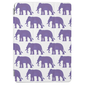 Purple elephants iPad air cover