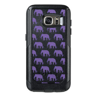 Purple elephants OtterBox samsung galaxy s7 case