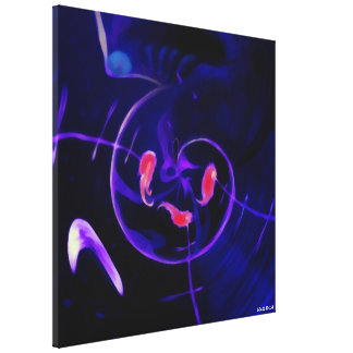 Purple Emergence Canvas Print