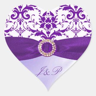 Purple Envelope Stickers