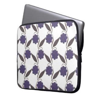 Purple examined laptop sleeve