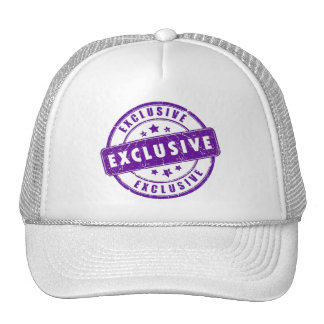 purple exclusive seal cap