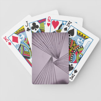 Purple Explicit Focused Love Bicycle Playing Cards