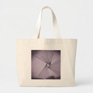 Purple Explicit Focused Love Large Tote Bag