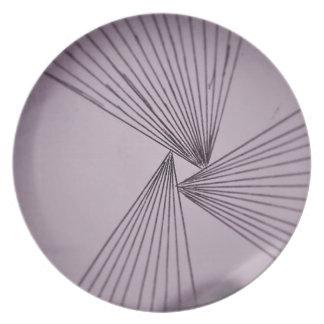 Purple Explicit Focused Love Plate