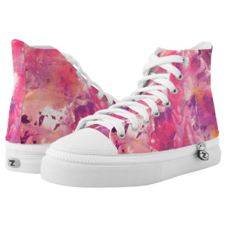 Purple Explosion High Tops