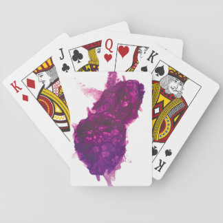Purple Explosion Playing Cards